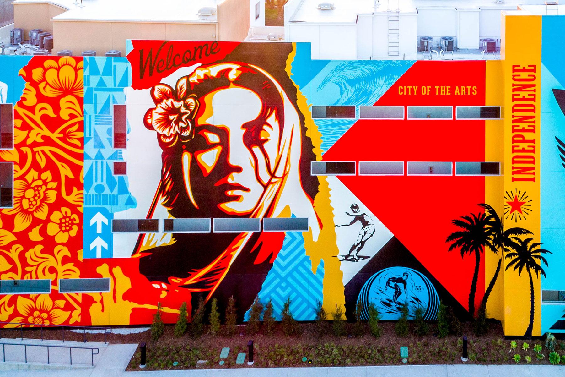 Baker Block Public Mural